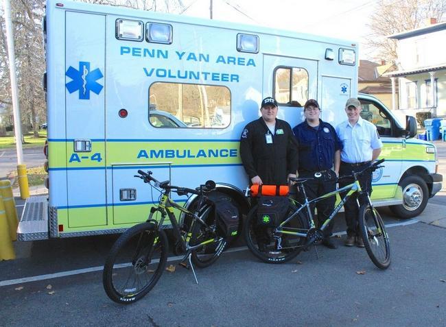 Yates County ambulance corps get new rigs