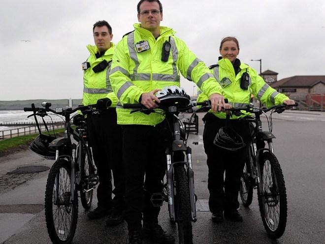 Saddle up! Bobbies on bicycles to patrol Aberdeen