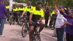 """Miami Gardens Police Chief """"Bikes On The Beat"""" To Improve Community Relations"""