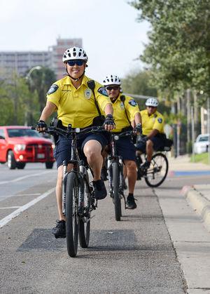 Brownsville police unveil downtown bike patrol unit