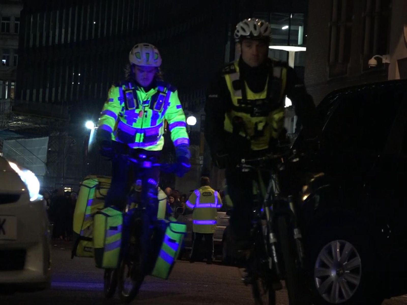 Police and paramedics devise novel way to deal with drunk revellers