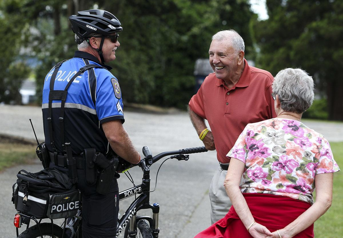 New Lake Stevens police bicycle unit on the streets