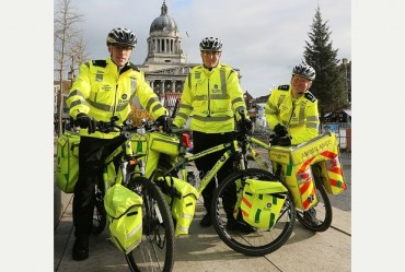 First-aid task force saddling up for Nottingham's Christmas rush