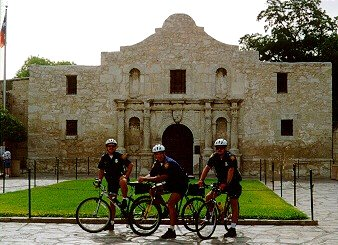 Remembering the Alamo: Foot and Bike Patrols Support Revival