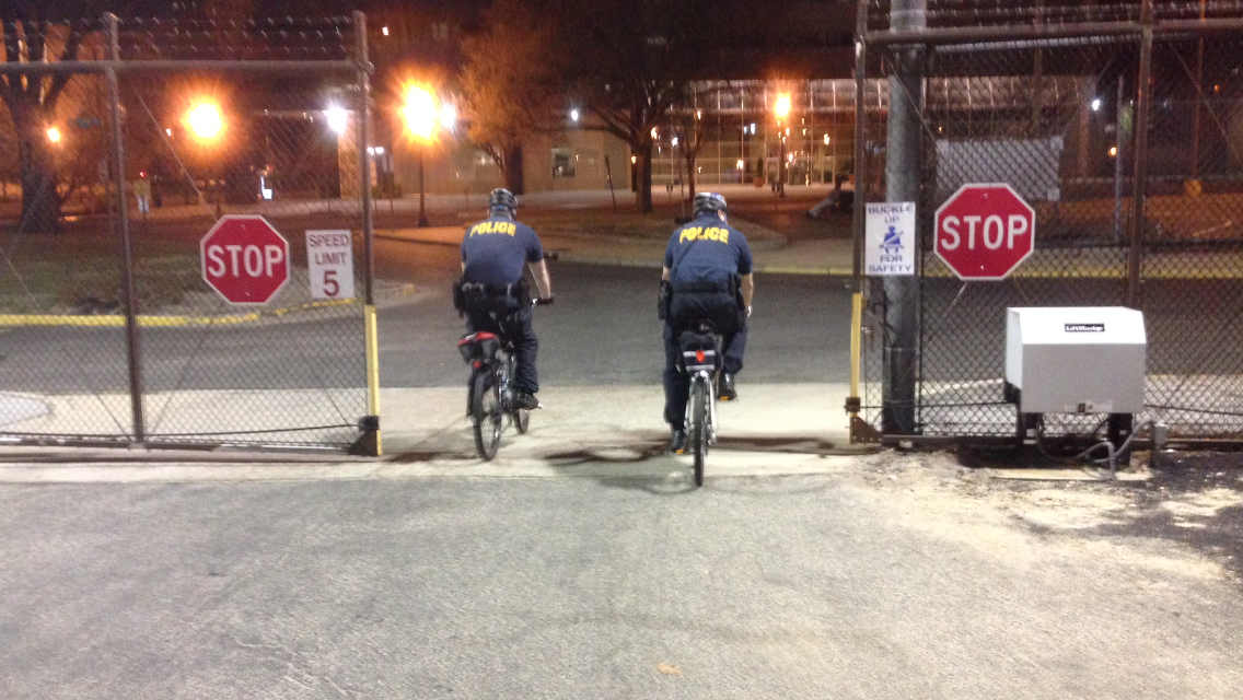 Bike Patrol Is Vital to Federal Police Forces