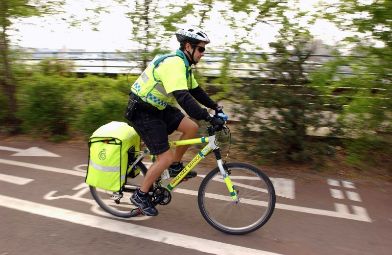 London Ambulance Service Cycle Response Unit Pilot