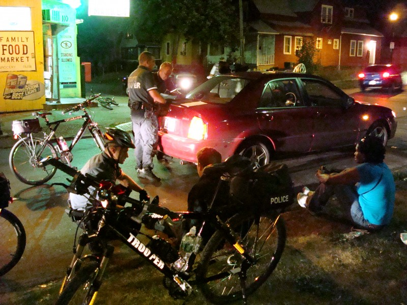 Traffic Stops: An Essential Bike Patrol Function