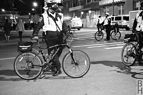 Final Four 2011:  VCU Police Use Bicycle Teams to Quell Riots
