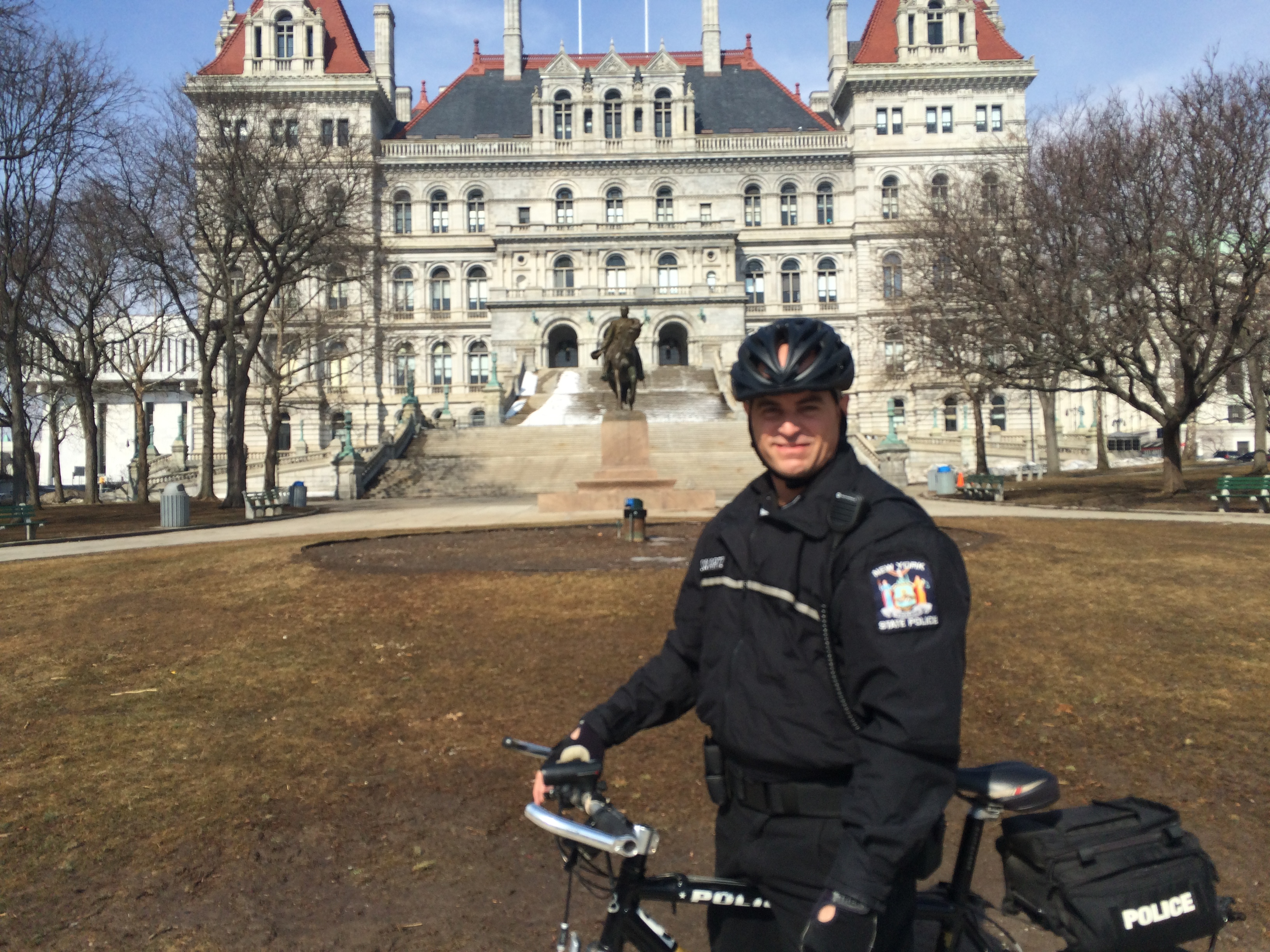 First Amputee NY State Trooper