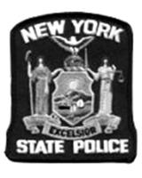 NY State Police patch