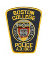 Boston College Police patch