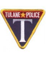 Tulane Police patch