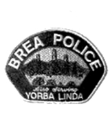 Brea Police patch