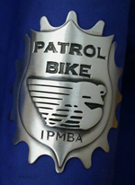 IPMBA Headbadge